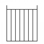 Pre Fabricated Gates