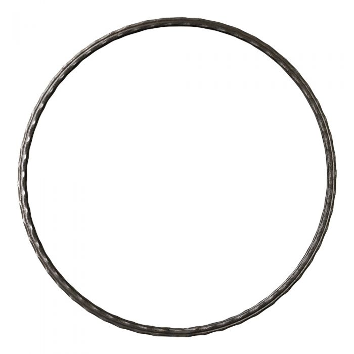 510mm DIA Ring 12x12 Hammered Edge