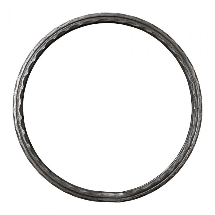 350mm DIA Ring 16x16 Hammered and Grooved