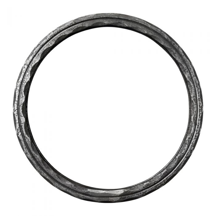 250mm DIA Ring 16x16 Hammered and Grooved